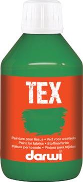 Darwi peinture textile Tex, 250 ml, vert foncé