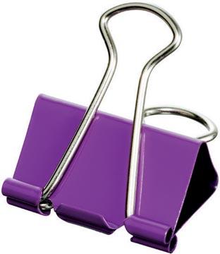 Maped clip foldback, taille grande, 32 mm, blister de 4 pièces en couleurs assorties