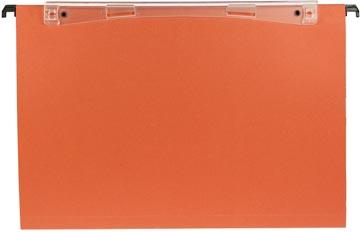 Esselte dossiers suspendus pour tiroirs Uniscope entraxe 380 mm, fond en V, avec crochets