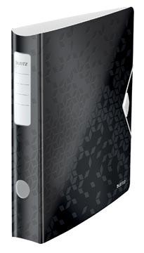 Leitz WOW classeur à levier Active, dos de 6,5 cm, noir