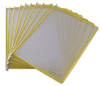 Tarifold poche à pivots jaune