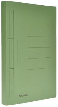 Class'ex chemise à glissière, ft 25 x 32 cm (pour ft A4), vert