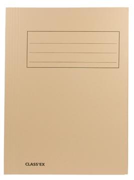Class'ex chemise de classement, chamois, ft 23,7 x 32 cm (pour ft A4)