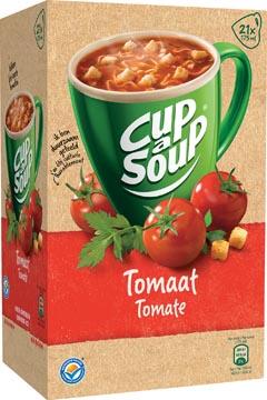 Cup-a-Soup tomate avec croûtons, paquet de 21 sachets