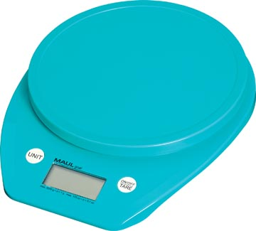 Maul pèse-lettres MAULgoal, pèse jusqu'à 5 kg, bleu