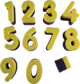 Bouhon éponges à chiffres
