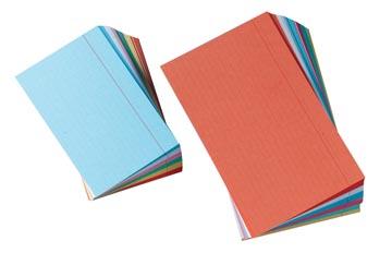 Gallery fiches colorées ft 7,5 x 12,5 cm