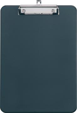 Maul plaque à pince, kunststof, pour ft A4, zwart