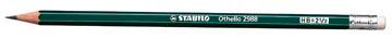 STABILO Othello crayon, B, avec gomme