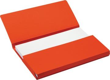 Jalema Secolor Pochette documents pour ft folio (34,8 x 23 cm), rouge