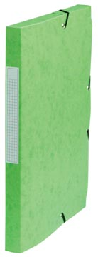 Pergamy boîte de classement, dos de 2,5 cm, vert