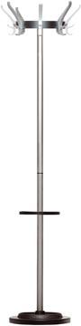 Unilux portemanteau Cypres, hauteur 170 cm, 8 patères, avec porte-parapluies