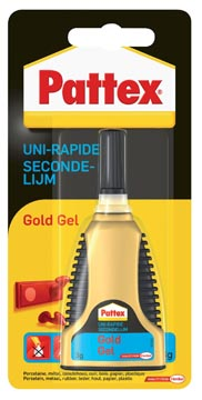 Pattex colle instantanée Gold Gel