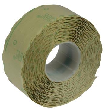 Etiquettes pour étiqueteuse Samark, ft 26 x 12 mm, permanentes, paquet de 12 rouleaux