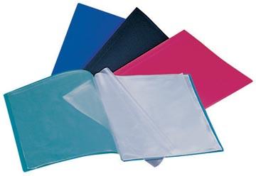 Beautone protège documents, A4, 30 pochettes, en couleurs assorties