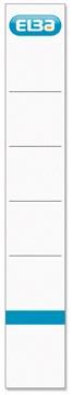 Elba étiquettes, ft 19x3,4 cm, blanc, 10 pcs