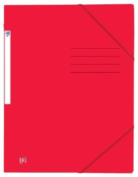 Oxford Top File+ chemise avec élastiques en carton, ft A4, rouge