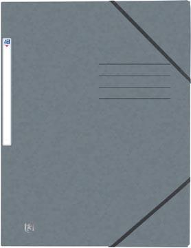 Elba Oxford Top File+ farde à rabats, pour ft A4, gris