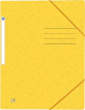 Oxford Top File+ farde à rabats, pour ft A4, jaune