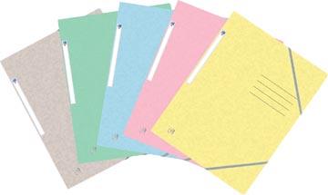 Oxford Top File+ farde à rabats, pour ft A4, couleurs pastel assorties