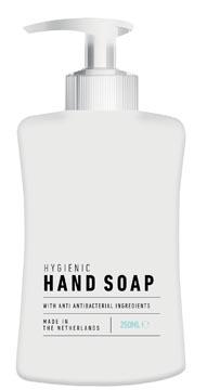 Savon pour les mains antibactérien avec pompe, flacon de 250 ml