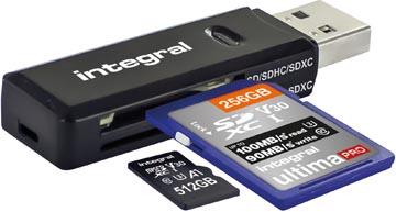 Integral SD / Micro SD USB 3.1 lecteur de carte mémoire universel