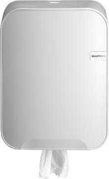 Distributeur Euro Quartz pour serviettes C-fold en multifold, blanc