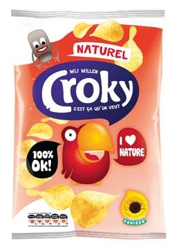 Croky chips naturel, sachet de 100 g