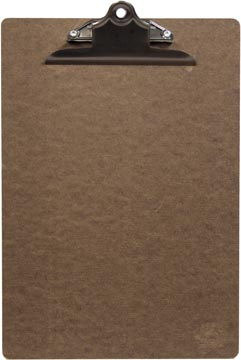 Securit protège-menu Clipboard, ft 34 x 23 cm, de bois