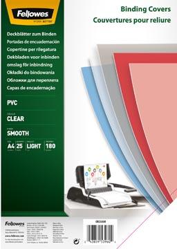 Fellowes couvertures transparent