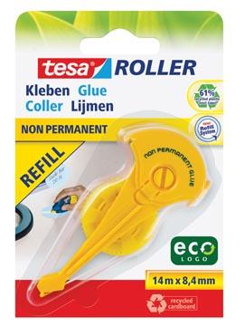 Tesa dérouleur de colle Eco recharge non-permanent
