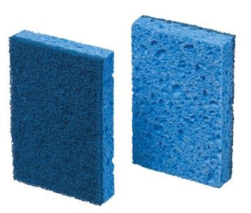 Scotch Brite éponge 770, bleu, paquet de 10 pièces