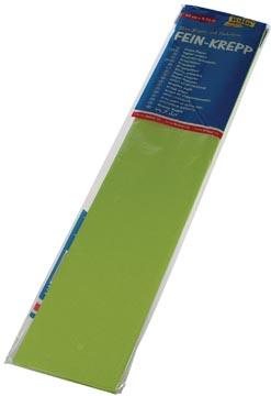 Folia papier crépon, vert clair