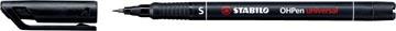 STABILO marqueur OHPen universal, permanent, pointe extra fine 0,4 mm, noir