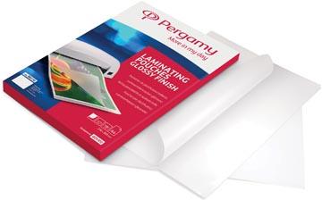 Pergamy pochette à plastifier, ft A3, 250 microns (2 x 125 microns), paquet de 100 pièces