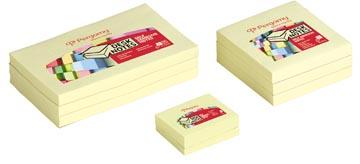 Pergamy notes, ft 38 x 51 mm, paquet de 12 blocs, jaune
