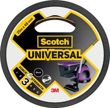 Scotch ruban de réparation Universal, ft 48 mm x 25 m, noir