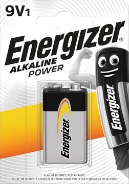 Energizer pile Alkaline, Power 9V, sblister 1 pièce