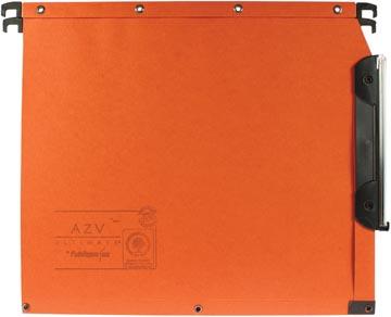 L'Oblique dossiers suspendus pour armoires AZV fond 50 mm, orange