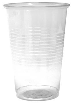 Gobelet en PP, 200 ml, transparent, paquet de 100 pièces