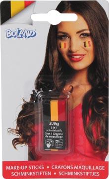 stick de maquillage aux couleurs de la Belgique