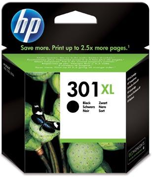 HP cartouche d'encre 301XL, 480 pages, OEM CH563EE, noir