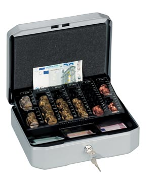 Durable coffret à monnaie Euroboxx Small, ft 10 x 28,3 x 22,5 cm