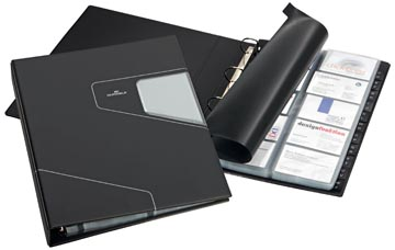 Durable Porte-cartes de visite Visifix Pro ft 255 x 315 mm, pour 400 cartes de visite