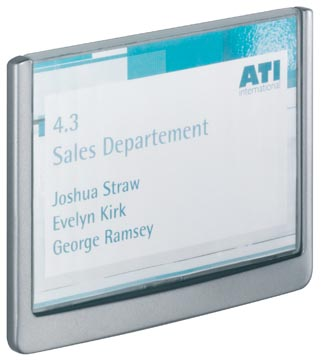 Durable plaque d'affichage Click Sign ft 14,9 x 10,5 cm