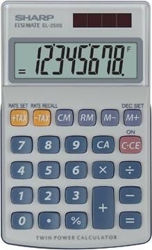 Sharp calculatrice de poche EL-250S