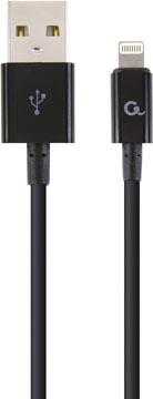 Gembird Cablexpert câble de charge et synchronisation, USB 2.0/8 broches, 1 m, noir