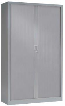 Armoires à rideaux, hauteur 198 cm, aluminium