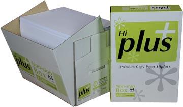 Hi-Plus Premium papier reprographique, ft A4, 75 g, boîte de 2500 feuilles