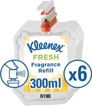 Kimberly Clark recharge pour désodorisant Aquarius, fresh, flacon de 300 ml, paquet de 6 pièces